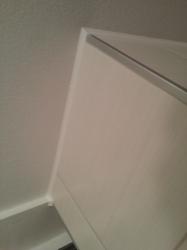 14.01 Fugen mit MS-Polymer  von Fliesen zur Wand überstreichbar
